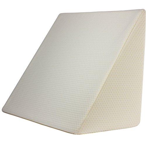 PUROVI® Keilkissen für Bett und Couch | Rückenstütze | Lesekissen | Lendenkissen | Das perfekte Sofa Kissen