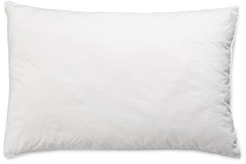 AmazonBasics Kissen mit Schnürung, Bezug: 100% Baumwolle, 50x75 cm