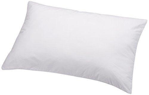 AmazonBasics Kissen mit Schnürung, Bezug: 100% Baumwolle, 50x75 cm, 2er-Set