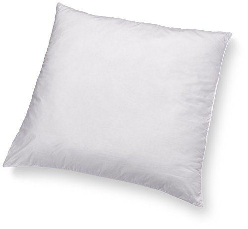 AmazonBasics Kissen mit Schnürung, Bezug: 100% Baumwolle, 65x65 cm