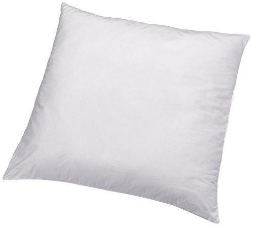 AmazonBasics Kissen mit Schnürung, Bezug: 100% Baumwolle, 65x65 cm, 2er-Set