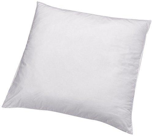 AmazonBasics Kissen mit Schnürung, Bezug: 100% Baumwolle, 80x80 cm