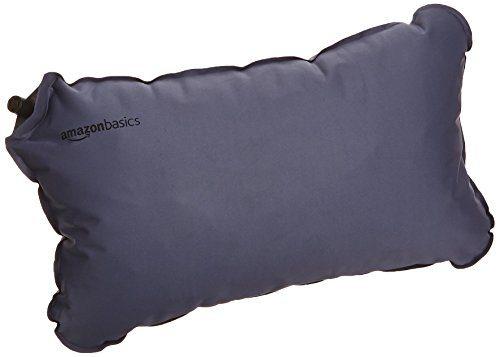 AmazonBasics Kissen, selbstaufblasend, platzsparend zusammenfaltbar