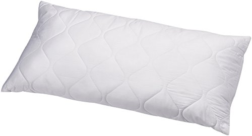 AmazonBasics Pillow quilted, Cover: 100% Cotton-Satin