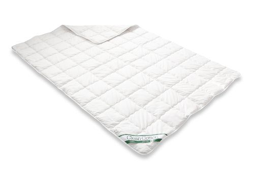 Badenia Bettcomfort Steppbett Clean Cotton leicht, 155 x 200 cm, wei