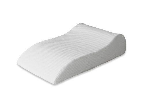 Badenia Medical Venenkissen aus weichem Baumwoll-Doppeltuch, 40 x 68 x 16,5 cm, weiß