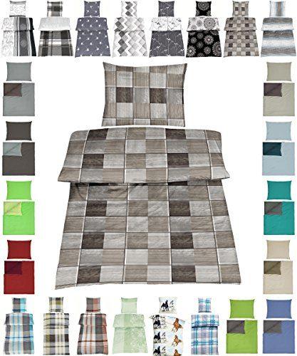 Baumwolle Bettwäsche Renforce 2 Größen viele schöne Designs