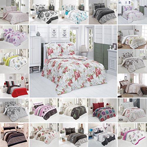 Buymax Bettwäsche Bettbezug Bettwäsche - Set 2-3 Teilig Bettgarnitur mit Reißverschluss aus 100% Baumwolle Oeko-Tex®