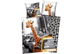 """Herding Renforcé Wende-Bettwäsche Giraffe im Taxi"""""""