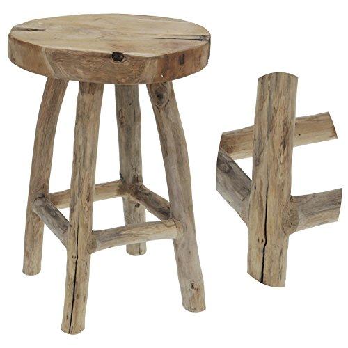 LS-LebenStil Design Holz Beistelltisch Couchtisch Telefontisch Sofatisch Tisch