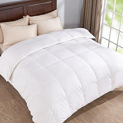 Puredown 30% weiße Gänsedaunen 12 Tog Hochwertige Daunendecke Bettdecke