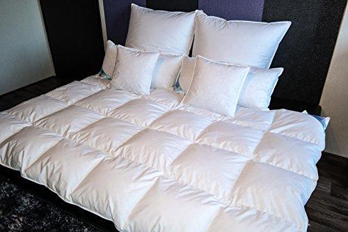 TM MAXX Hochklassige Kassetten Daunendecke Daunen Bettdecke Steppbett ⁕ verschiedene Größen