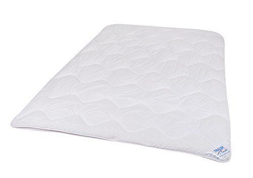 Traumnacht 03831386149 4-Star, ideale Üœbergangsbettdecke aus Baumwollmischgewebe, waschbar, weiß