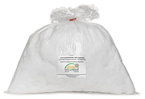 Traumnacht 03870246000 Faserfüllung/Kissenfüllung 1kg, Weiß