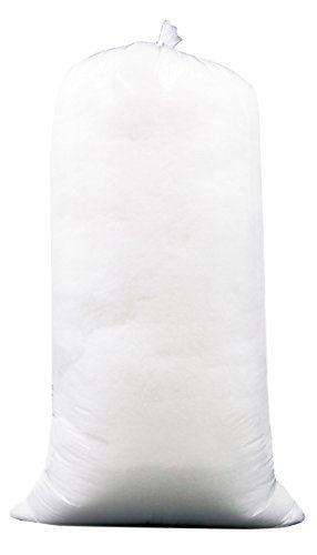 Zollner Kopfkissenfüllung Kissenfüllung aus silikonisierte Polyesterhohlfaser-Flocken, Füllgewicht 1000g, Serie Fill-in