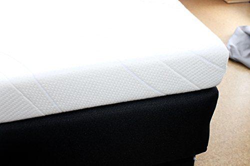 SW Bedding H3 Topper Matratzenauflage Kaltschaum 180x200 x 7 cm Bezug medicare Boxspringbett Auflage - 30 Tage Probeschlafen