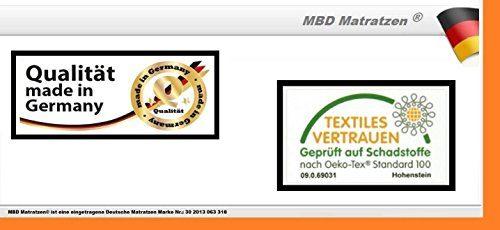 MBD-Matratzen Orthopädischer Gelschaum Topper < Extra Soft > mit Noppen - Höhe ca. 6 cm (Kern ca. 5 cm) Raumgewicht 65 Kg/m³ (160 x 200 cm)