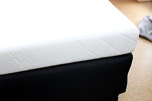 SW Bedding Gelschaum Topper Matratzenauflage 7 cm Bezug Medicare 180 x 200 cm - 30 Tage Probeschlafen