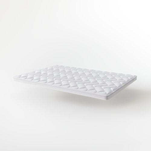 Hilding Sweden Cloud Matratzentopper, aus Gelschaum in Weiß, Bequeme Matratzenauflage für besseren Schlafkomfort, 200 x 80 cm x 8 cm