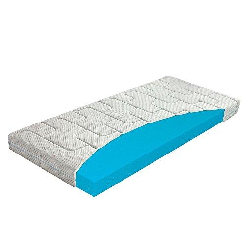 Beste 60 x 120 Kaltschaum-Matratze für Kinder, Babymatratze für Kinderbett / Krippe, Abnehmbarer, Waschbarer Bezug mit Seealgen-Extrakt im Bezug für Besseren Schlaf Und Gesundheit, Höhe 10 cm