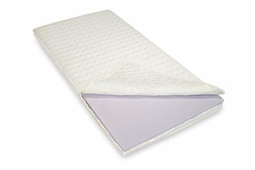 Bodyprint Plus - Gel-Schaum Topper Matratzenauflage - direkt vom BETTEN FACHGESCHÄFT - 8 cm Gesamthöhe Raumgewicht RG 60 mit Klimaband und Stegkanten