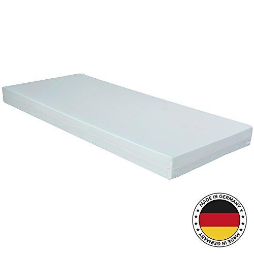CozyBasic 90x190cm Premium Kaltschaum-Matratze – alle Größen erhältlich – Für alle Schlaftypen geeignet – Oeko-TEX® 100 – Made in Germany (90 x 190 cm)