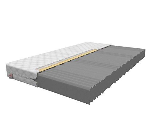 FDM Kaltschaummatratze 140x200 cm Orthopädische 7 Zonen Matratze Härtegrad H3 Comfort