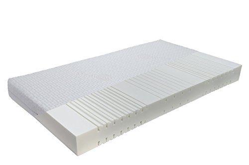 FMP Matratzenmanufaktur orthopädische 7 Zonen Kaltschaummatratze RG 50 Sensitive-Pure Medicottbezug Härte: H2 (bis max. 85kg) Gr. 100x200 cm
