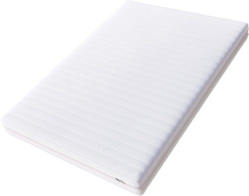 Hilding Sweden Essentials Memoryschaum Matratze in Weiß / Mittelfeste Matratze aus thermoelastischem Visko-Komfortschaum für alle Schlaftypen (H2-H3) / 200 x 90 cm