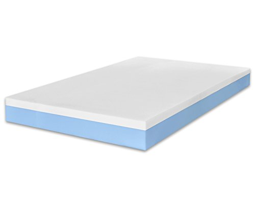 MARCAPIUMA - Matratze Memory 120x200 Höhe 20 cm - SUNRISE - 2 Schichten Wellness Bettcomfort Orthopädische Komfortschaummatratze Relax Einzelbett - Härtegrad H2 Medium - Hochwertige Viscoelastische Bettcomfort Kaltschaummatratze - 5 Zonen Abziehbar Bezug mit Reißverschluss waschbar bei 60° antiallergen gegen Milbe und schwitzend - 100% Made in Italy