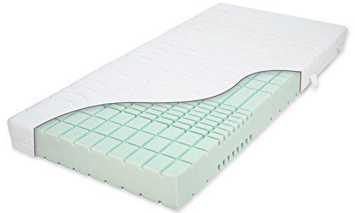 Matratzenheld Artus 3D Kaltschaummatratze 90x200 cm H2 | Für Allergiker und Hygienebewusste | Matratzenbezug Waschbar bis 60° C | 7 Zonen Matratze | Made in Germany