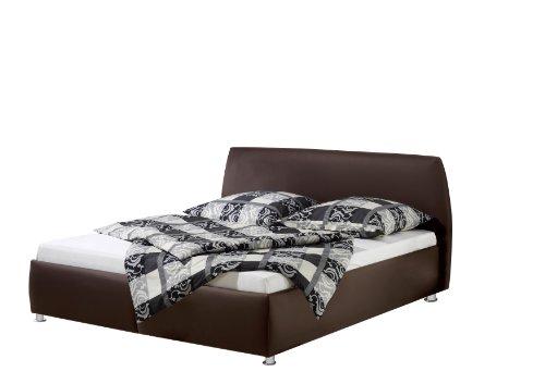 Maintal Betten 234966-4716 Polsterbett Minu 180 x 200 cm, Kunstleder